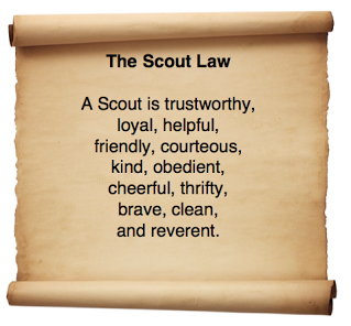 photograph relating to Boy Scout Oath Printable known as Clean Scout Oath and Regulation Pack 3258 Pawnee Basic